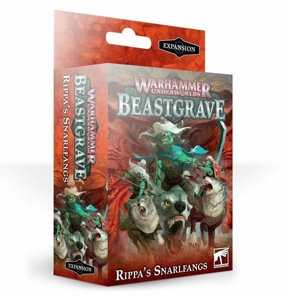 Beastgrave: (Rippa's Snarlfangs) English - Warhammer Underworlds - Games Workshop