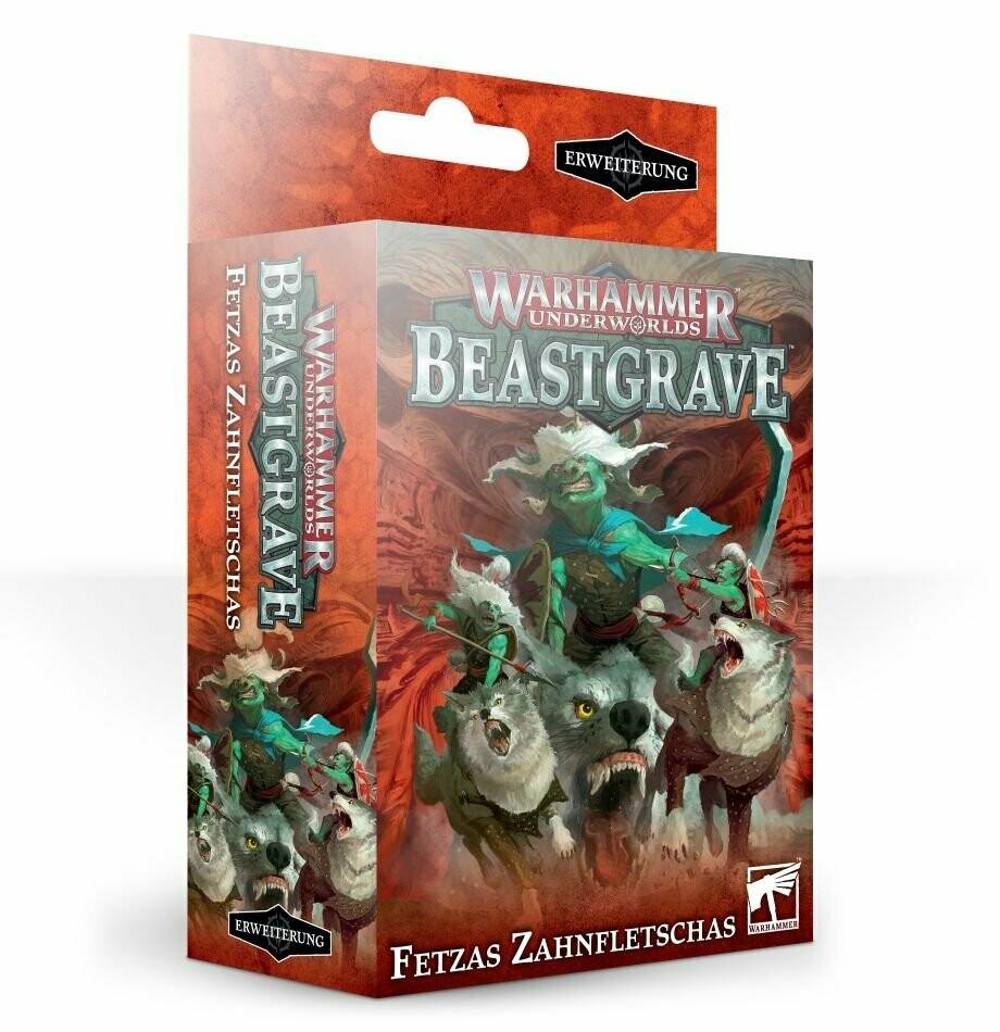 Beastgrave: Fetzas Zahnfletschas (Rippa's Snarlfangs) Deutsch - Warhammer Underworlds - Games Workshop