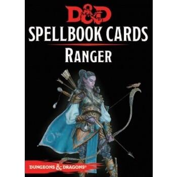 D&D Dungeons&Dragons Spellbook Cards - Ranger (46 Cards) - EN