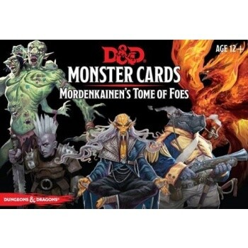 D&D Monster Cards - Mordenkainen's Tome of Foes (109 cards) - EN