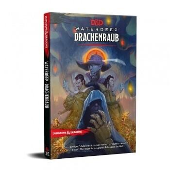 Dungeons and Dragons D&D Waterdeep Dragon Heist Drachenraub - DE