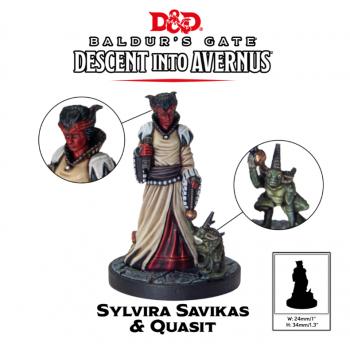 D&D Descent into Avernus - Sylvira Savikas - Dungeons and Dragons