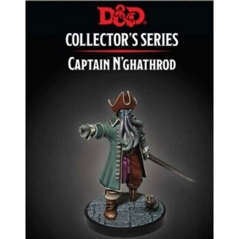 D&D Mad Mage - Captain N'ghathrod Figure - Dungeons and Dragons