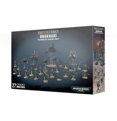 MO: Battleforce: Drukhari Poisonblade Raiding Party - Warhammer 40.000 - Games Workshop