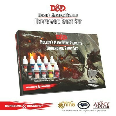 D&D: Underdark Paint Set - Army Painter Warpaints