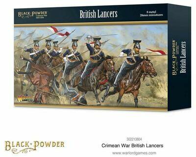 Crimean War British Lancers - Black Powder - Warlord Games