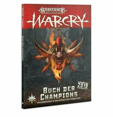 Warcry: Buch der Champions (Deutsch) Erweiterung - Warhammer - Games Workshop