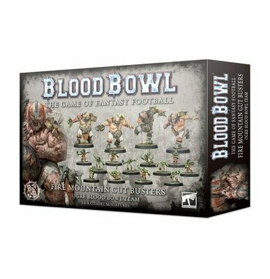 Die Fire Mountain Gut Busters - Ogre Blood Bowl Team - Games Workshop