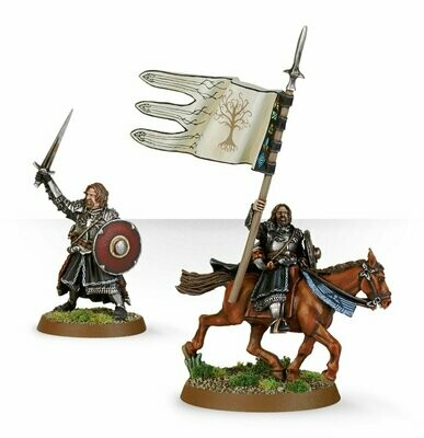 MO: Gerüsteter Boromir (zu Fuß & beritten) - Lord of the Rings - Games Workshop