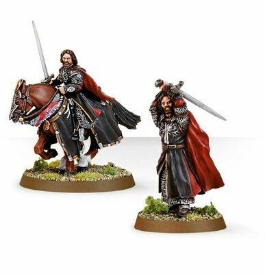 MO: LOTR: Aragorn (Das Schwarze Tor) - Lord of the Rings - Games Workshop