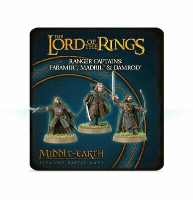 MO: LOTR: Hauptleute der Waldläufer: Faramir™, Madril & Damrod - Lord of the Rings - Games Workshop