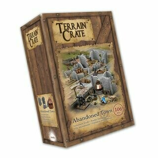 Abandoned Town - Terrain Crate - Mantic Games