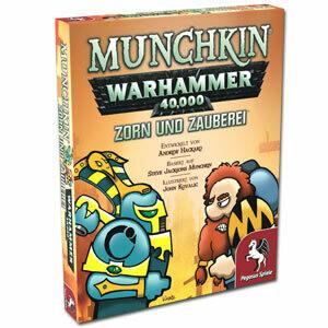 Munchkin Warhammer 40 000 40k Zorn und Zauberei (Erweiterung) (DE) - Pegasus Spiele