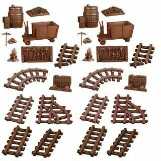 Abandoned Mine - Terrain Crate - Mantic Games