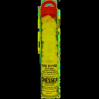 Yellow Catseye Glass Gaming Stones (40+) - Chessex