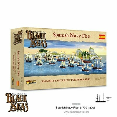 Spanish Navy Fleet (1770-1830) - Black Seas - Warlord Games