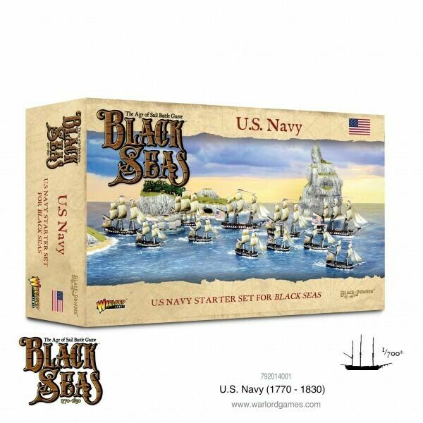U.S. Navy (1770-1830) Starter Set - Black Seas - Warlord Games