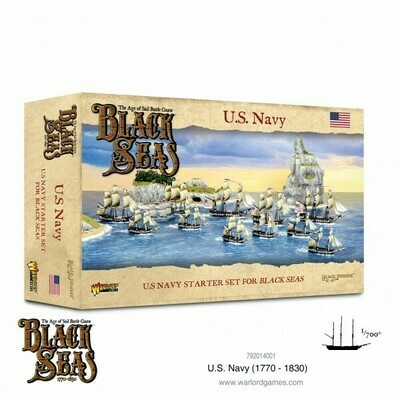 U.S. Navy (1770-1830) Starter Set - Black Seas - Warlord Games