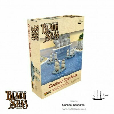 Gunboat Squadron - Black Seas - Warlord Games