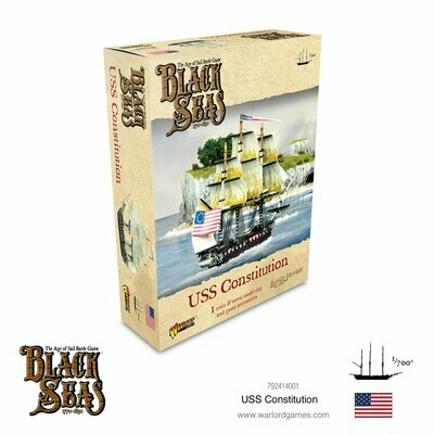 USS Constitution - Black Seas - Warlord Games