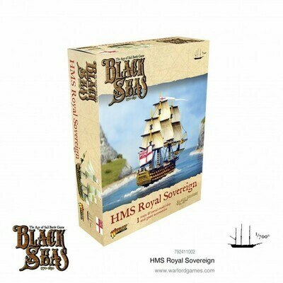 HMS Royal Souvereign - Black Seas - Warlord Games