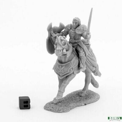 Sir Danel, Mounted Crusader - Bones - Reaper Miniatures