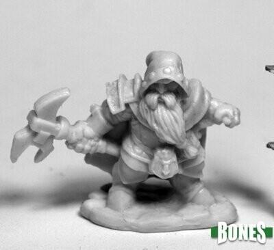 Durok Dwarf Ranger - Bones - Reaper Miniatures
