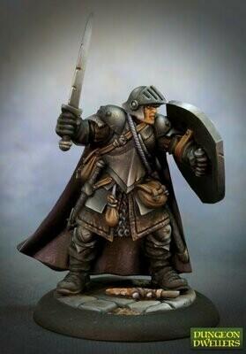 Baran Blacktree, Veteran Warrior - Dungeon Dwellers - Reaper Miniatures
