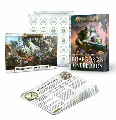 Warscroll Cards: Kharadron Overlords (Englisch) - Warhammer Age of Sigmar - Games Workshop