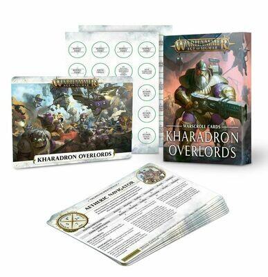 Schriftrolle-Karten: Kharadron Overlords Warscroll (Deutsch) - Warhammer Age of Sigmar - Games Workshop