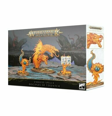 Endloszauber: Disciples of Tzeentch Endless Spells - Warhammer Age of Sigmar - Games Workshop