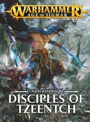Battletome: Disciples of Tzeentch Deutsch (1.0 Version (alt)) - Warhammer Age of Sigmar - Games Workshop