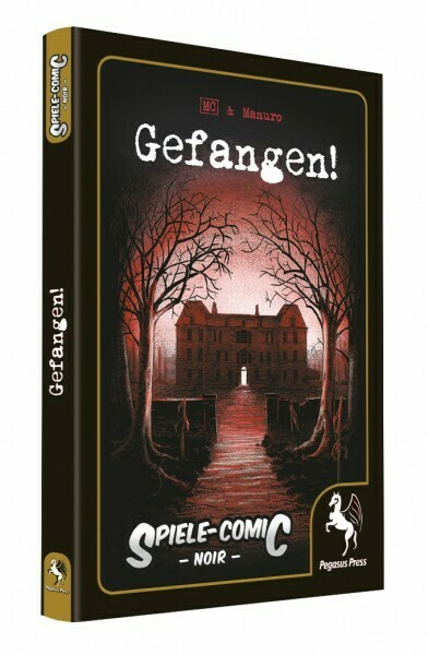 Spiele-Comic Noir: Gefangen! (Hardcover) - Pega