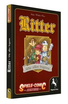 Spiele-Comic Abenteuer: Ritter - Wie alles begann (Hardcover) - Pegasus Press