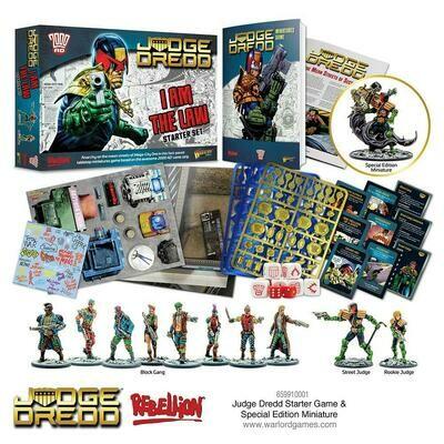 Judge Dredd starter game - Warlord Games