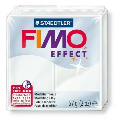 Fimo Effect 57gr - Durchscheinend Weiß - Greenstuff World