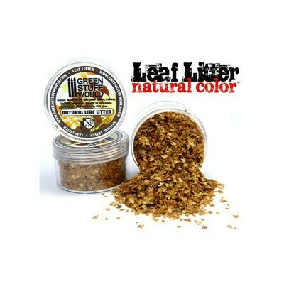 natürliche Modell-Blätter Laubstreu Natural Leaf Litter - Neutral - Greenstuff World