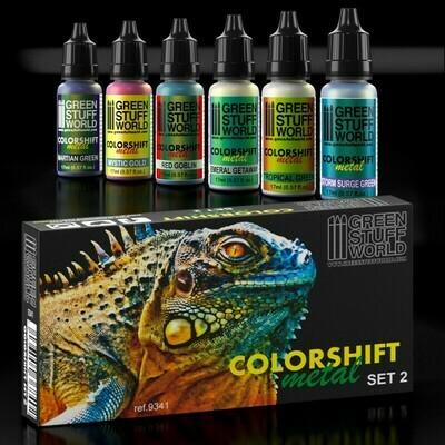 Chameleon-Metallfarben Farben Set 2 - Colorshift Metal - Greenstuff World