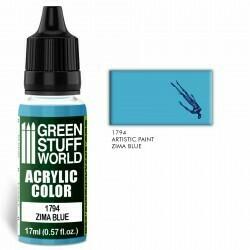 Acrylic Color ZIMA BLUE  - Greenstuff World