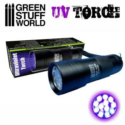 Ultraviolettes Licht Taschenlampe UV- Greenstuff World