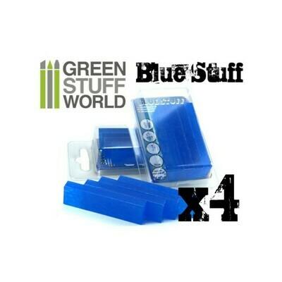 Blue Stuff Sofort Abformmasse - 4 Streifen- Greenstuff World