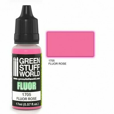Fluor Farbe ROSA - Greenstuff World