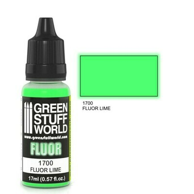 Fluor Farbe LIMETTE - Greenstuff World