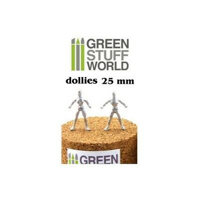 Flexible Modellier Armaturen 25 mm Sculpting Armatures - Greenstuff World