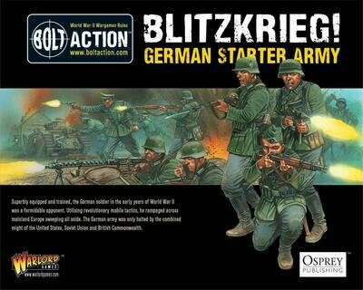 1000pts Blitzkrieg German Army - German - Bolt Action - Warlord Games