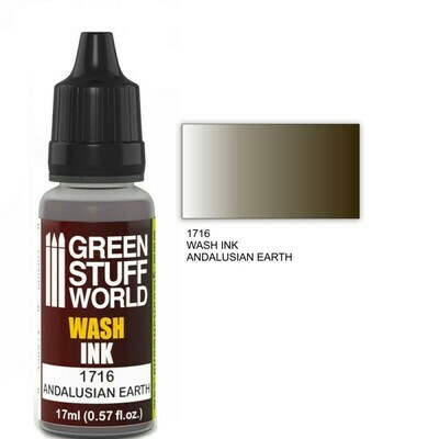 Acryl-Waschtinte ANDALUSIAN EARTH Wash Ink - Greenstuff World
