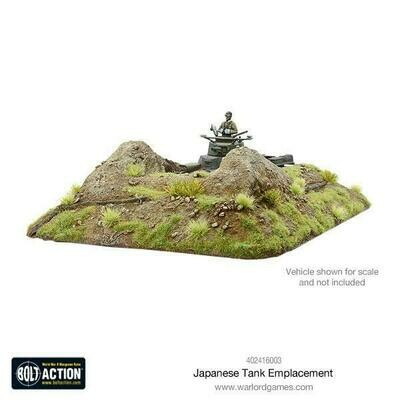 Japanese Tank Emplacement - Bolt Action