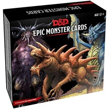 Dungeons & Dragons - Monster Cards - Epic Monsters (77 cards) - EN
