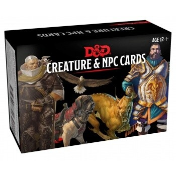 Dungeons & Dragons - Monster Cards - NPCs & Creatures (182 cards) - EN