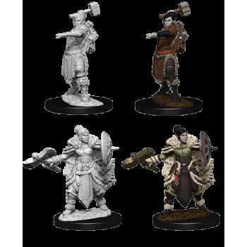 D&D Nolzur's Marvelous Miniatures - Female Half-Orc Barbarian